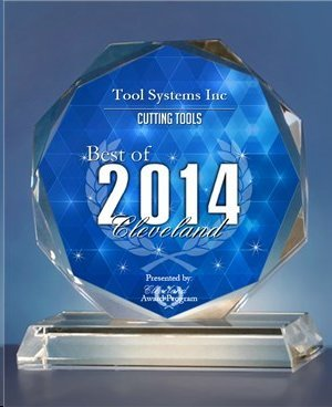 2014 Best of Cleveland Award in the Cutting Tools category by the Cleveland Award Program